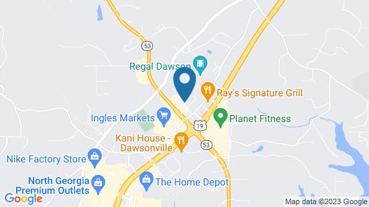 Super 8 by Wyndham Dawsonville Map