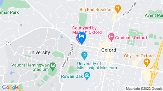 Courtyard by Marriott Oxford Map