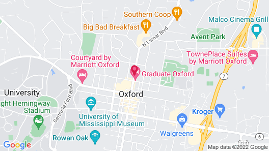 Graduate Oxford Map