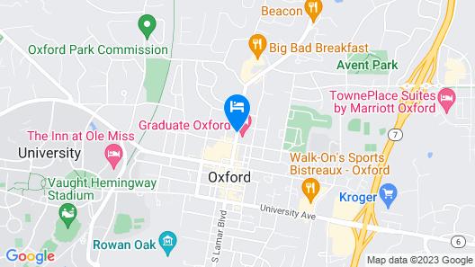 Graduate Oxford Map