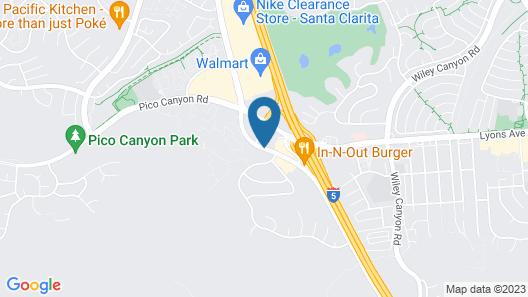 Fairfield Inn Santa Clarita Valencia Map