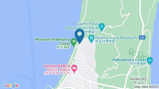 Minshuku Ipponmatsu Map