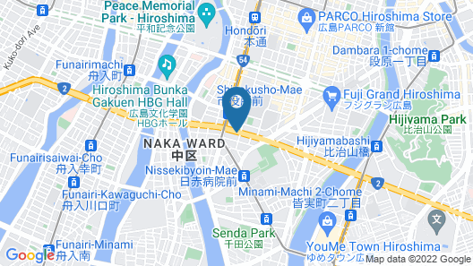 OUCHI HOTEL SUITE Temma Map