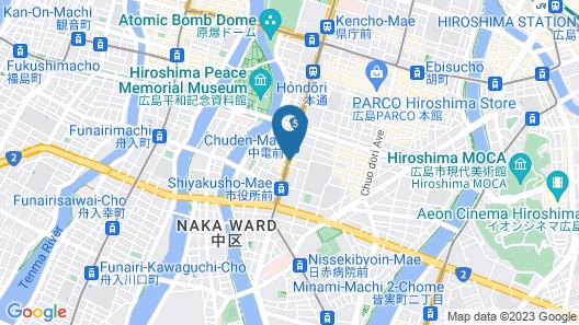 Daiwa Roynet Hotel Hiroshima Map