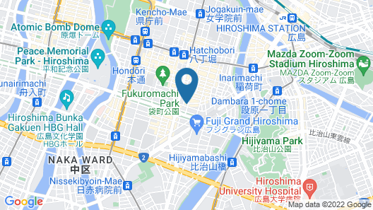 Red Planet Hiroshima  Map