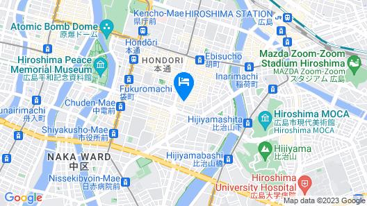 Red Planet Hiroshima Map