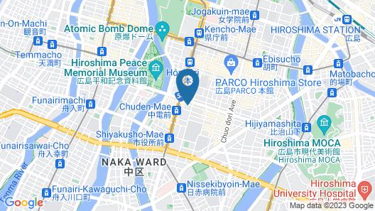 Dormy Inn Hiroshima Hot Spring Map