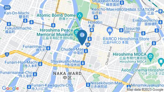Sotetsu Grand Fresa Hiroshima Map