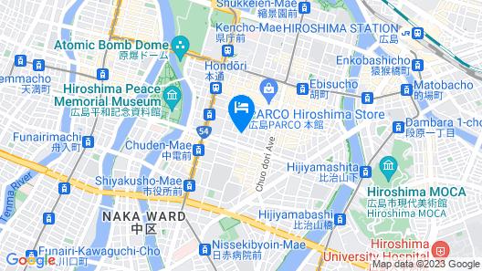 Mitsui Garden Hotel Hiroshima Map