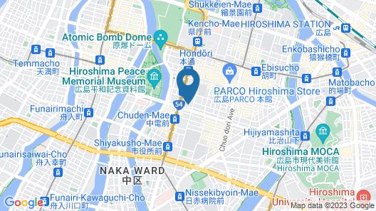 Crowne Plaza ANA Hiroshima, an IHG Hotel Map
