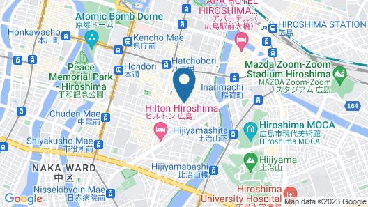 capsule&spa Grand Sauna Hiroshima - Caters to Men Map