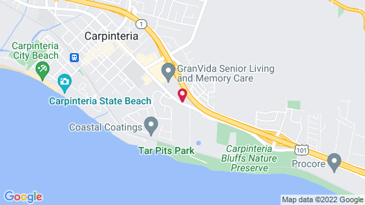 Holiday Inn Express Hotel & Suites Carpinteria, an IHG Hotel Map
