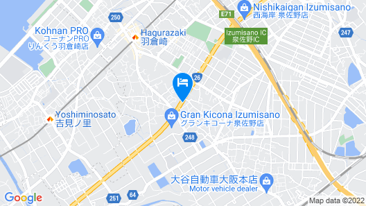 HOTEL ASTON PLAZA KANSAI AIRPORT Map