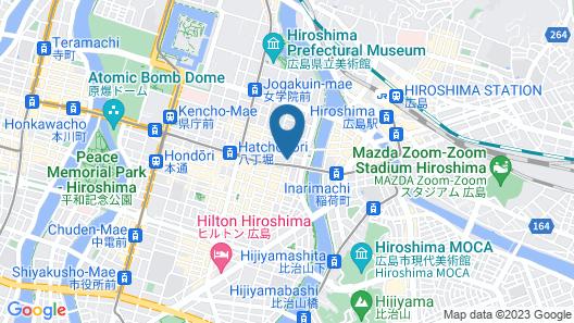 Capsule Hotel CUBE Map