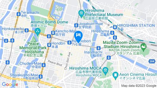 Nest Hotel Hiroshima Hatchobori Map