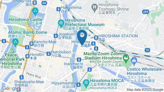 APA Hotel Hiroshima-Ekimae Ohashi Map