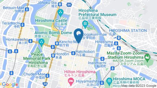 Hotel Intergate Hiroshima Map