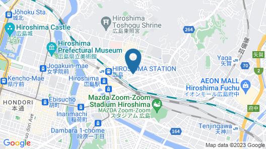 Urbain Hiroshima Executive Map