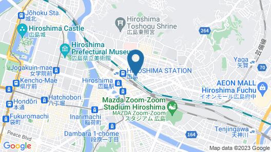 Green Rich Hotel Hiroshima Map