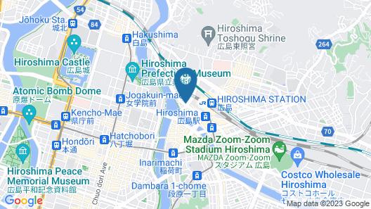 Randor Residence Hiroshima Suites Map