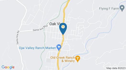 Oakridge Inn Map