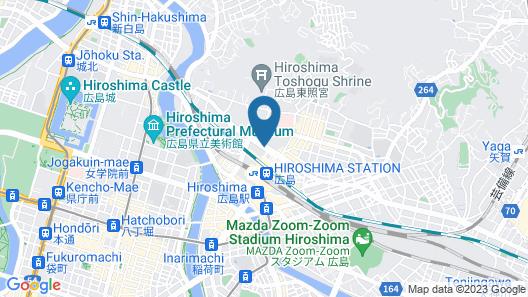 Hotel Granvia Hiroshima Map
