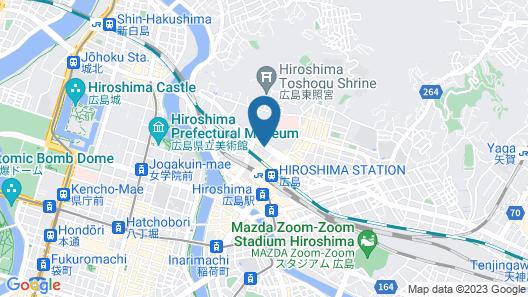 Via Inn Hiroshima Shinkansenguchi Map