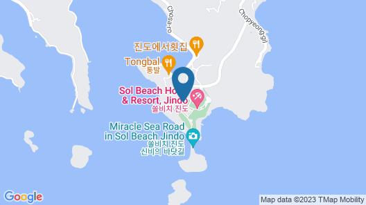 Sol Beach Jindo Map
