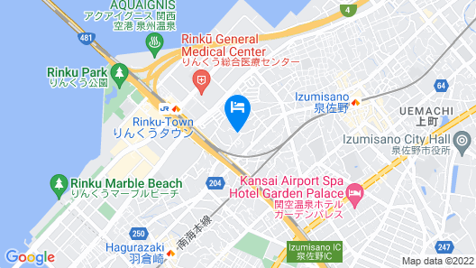 Apartment Hotel STAY THE Kansai Airport Map