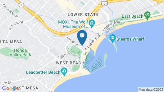 Mason Beach Inn Map