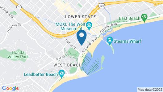 Harbor House Inn Map
