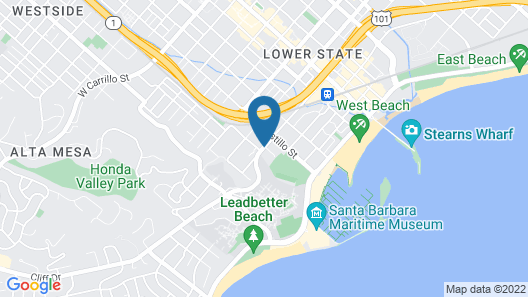 Inn By The Harbor Map
