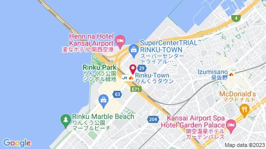 Star Gate Hotel Kansai Airport Map