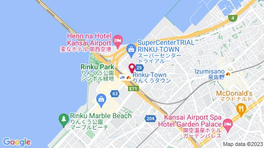 Oriental Suites Airport Osaka Rinku Map
