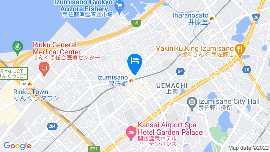 STAY THE OSAKA Private Guest House Map