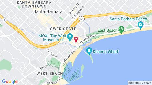 Hotel Californian Map
