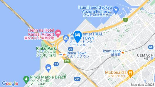 Hotel WBF Grande Kansai Airport Map