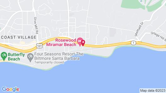 Rosewood Miramar Beach Map