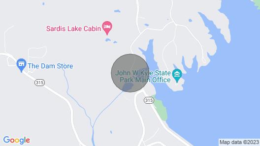 Sardis/golf/olemiss Cabin Map