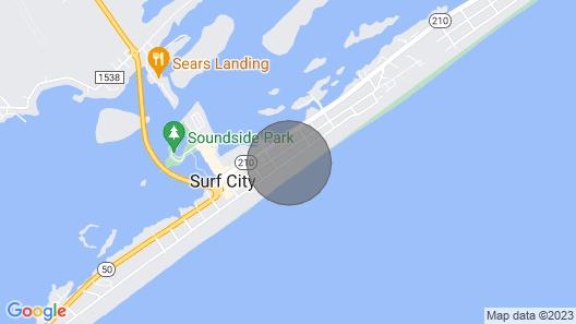 Oceanfront & PET Friendly! - Tower 5 Retreat Map
