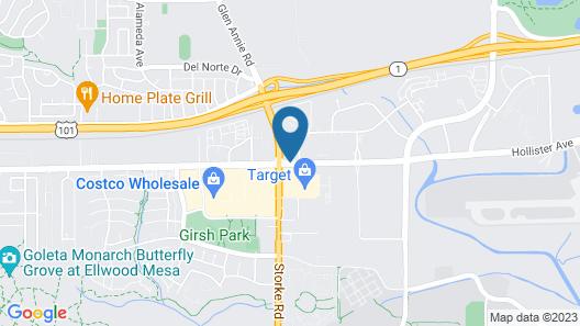 Hilton Garden Inn Santa Barbara / Goleta Map