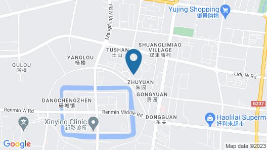 Greentree INN Suzhou Dangshan Dayukou Express Map
