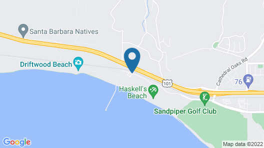The Ritz-Carlton Bacara, Santa Barbara Map