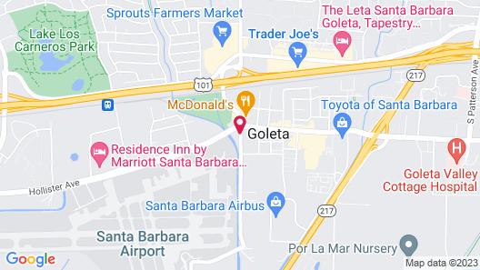 Super 8 by Wyndham Santa Barbara/Goleta Map
