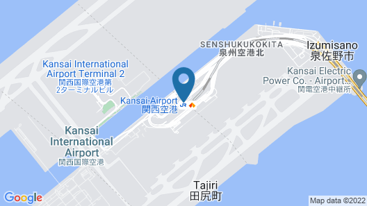 Hotel Nikko Kansai Airport Map