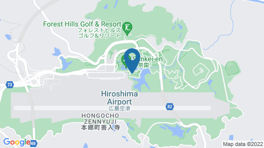 Hiroshima Airport Hotel Map