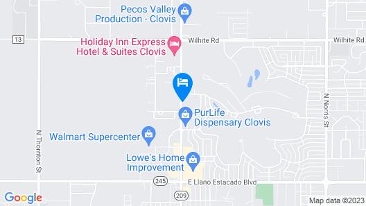 Fairfield Inn & Suites by Marriott Clovis Map