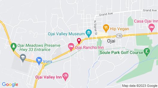 Chantico Inn Map