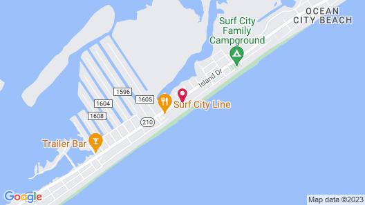 All Oars In - 4 Br Duplex Map