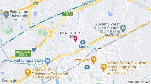 Guest house kusunoki Map